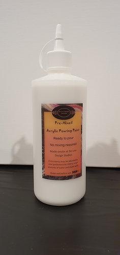 Pre-mixed Acrylic white paint 1000ml
