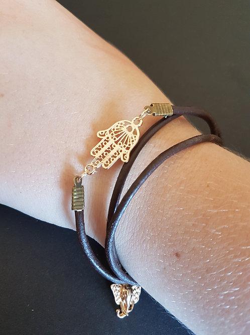 Namaste wrap bracelet