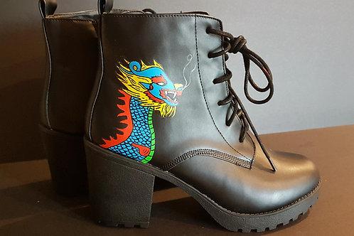 Dragon chunky boot