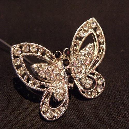 Diamonte Butterfly  on spike