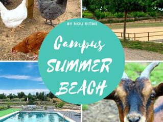 CAMPUS SUMMER BEACH!