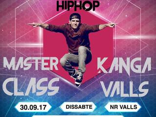 MasterClass HipHop KANGA VALLS!
