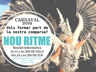 Reunió informativa carnaval 2019!