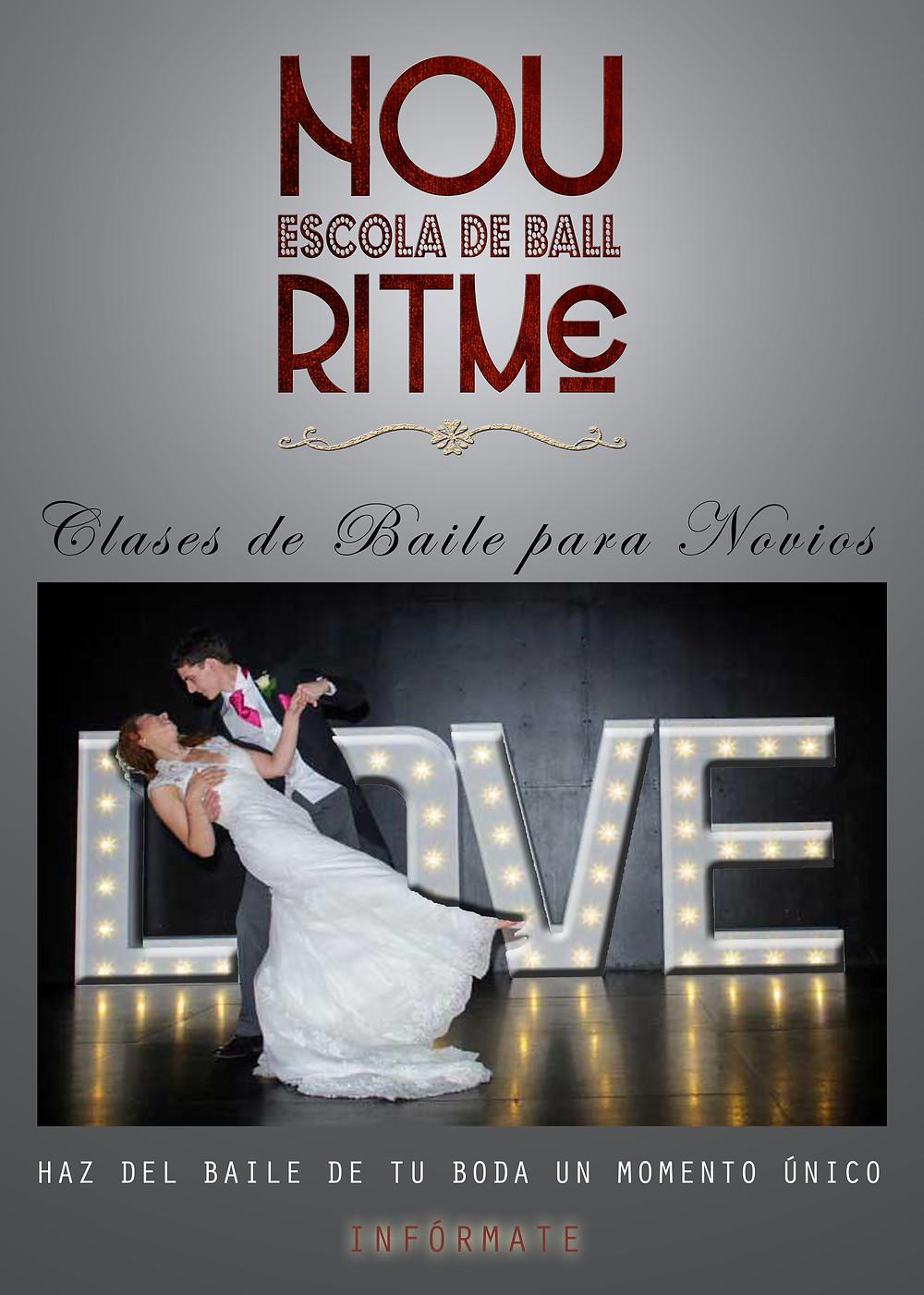 Nou Ritme et crea, personalitza i ensenya el teu ball nupcial! Un dels moments més màgics de la teva boda on et farem que la teva actuació fiqui els pèls de punta amb l'ajuda dels nostres professionals!