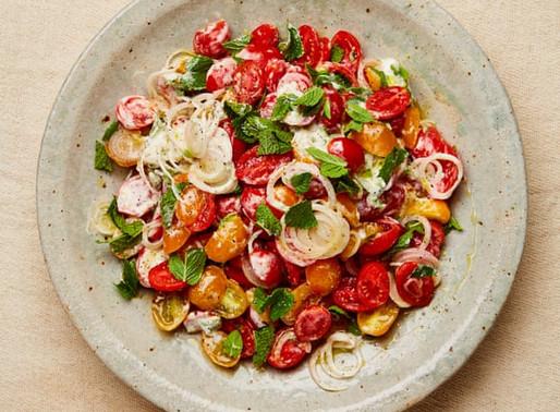 Tomato Salad with Lime & Cardamom