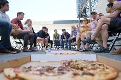 Pizzas provided by NZBA