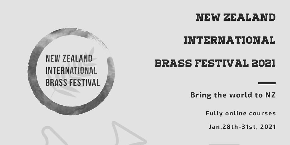 New Zealand International Brass Festival 2021