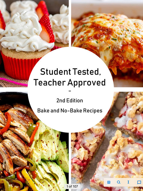 Baked and No Baked Recipes- Edition 2