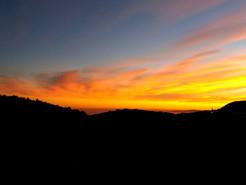 Panorama - Sonnenuntergang