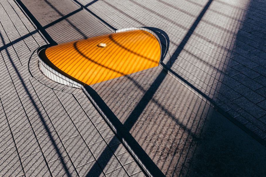 Streetfotografie - Linien, Schatten und Farbe