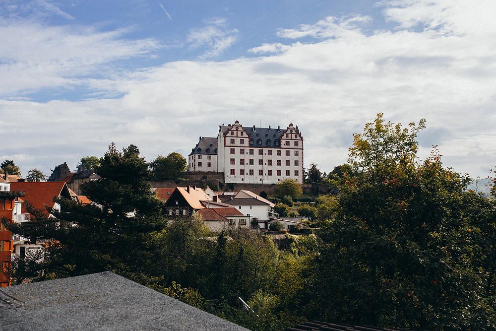 Schloß Lichtenberg Aussicht