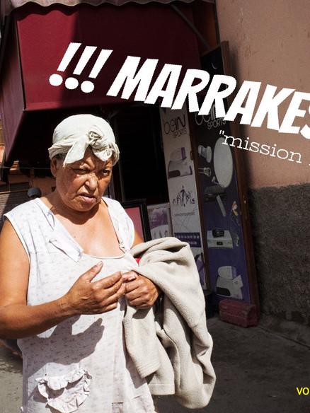 Streetfotografie Marrakech - Mission Impossible