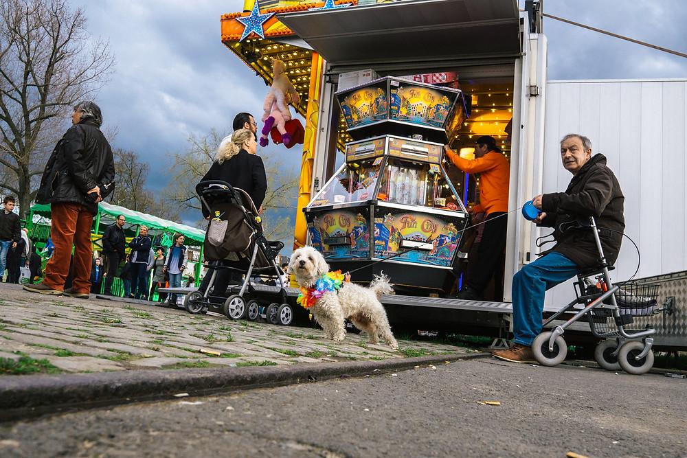 Streetfotografie Deutschland, Kirmes in Köln
