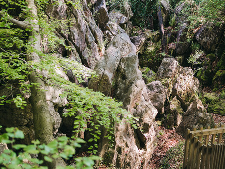 Das Felsenmeer in Hemer - steinige Riesen aus alten Zeiten.