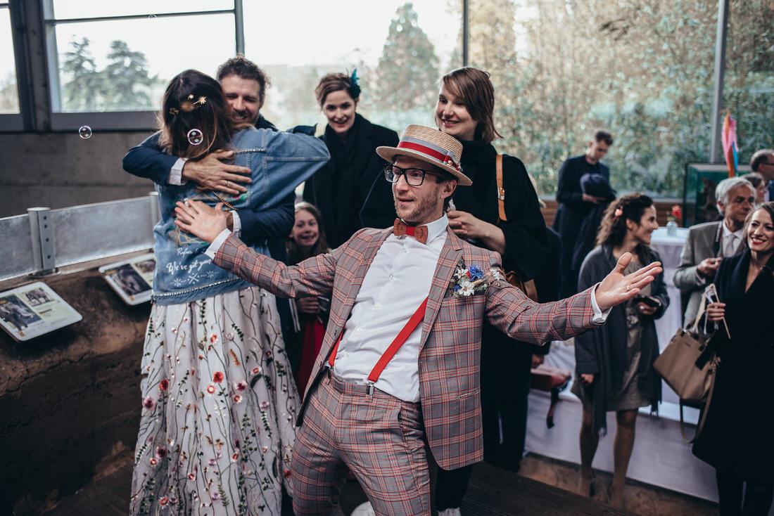 Hochzeitsreportage mit Arlette und Marc im Kölner Zoo!