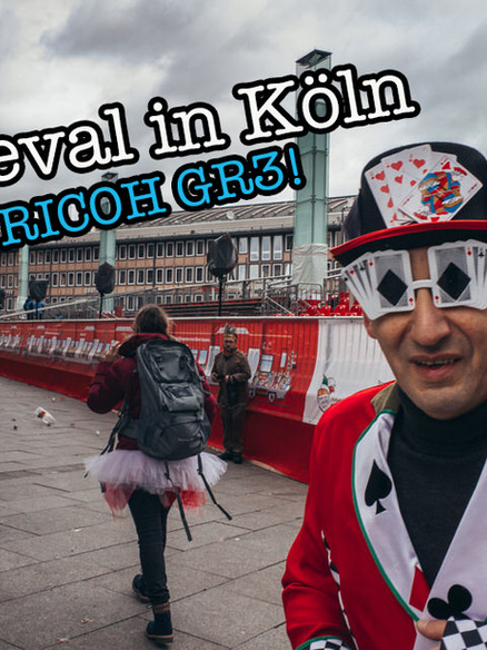 Karneval in Köln mit der neuen Ricoh GR3
