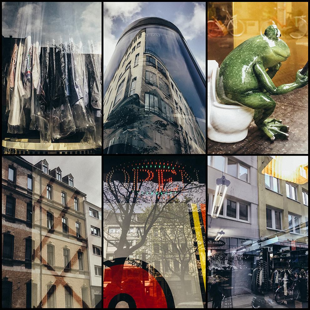 Reflexionen, Street Photography Köln - Christopher Reuter - Smartphone Fotografie