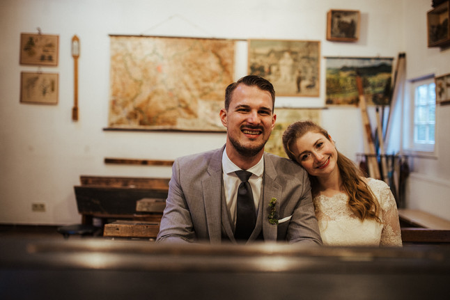 Eva & Max - Hochzeit im Heimatmuseum Bensberg
