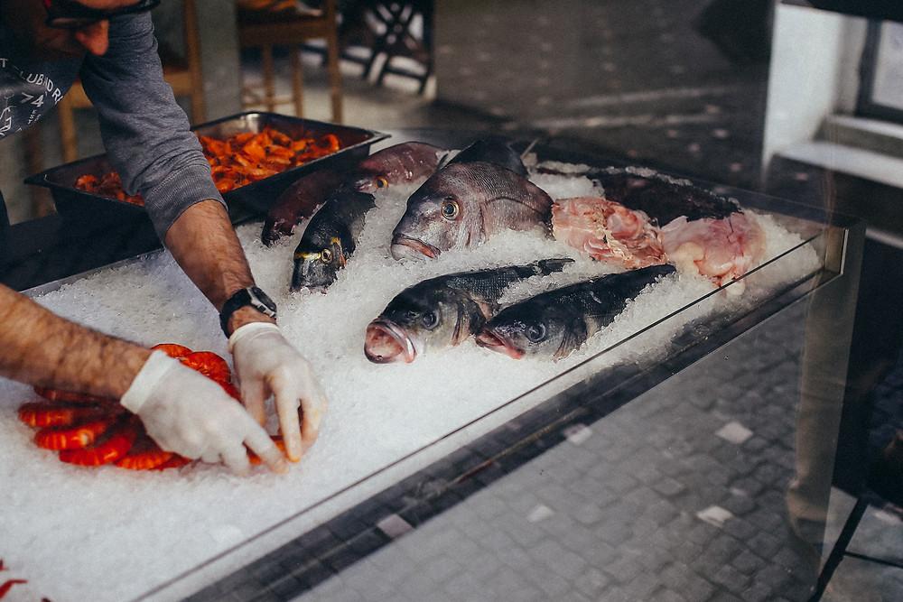 Fisch in Porto