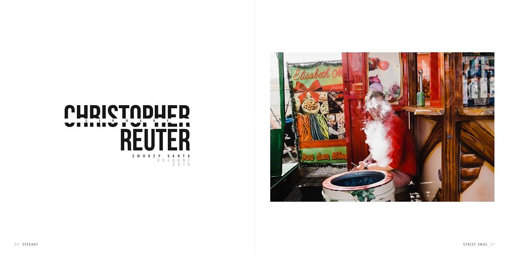 "Christopher Reuter, Streetfotograf und Peoplefotograf aus Köln mit dem Bild ""Santa"" - EYESHOT Magazine Xmas Special"