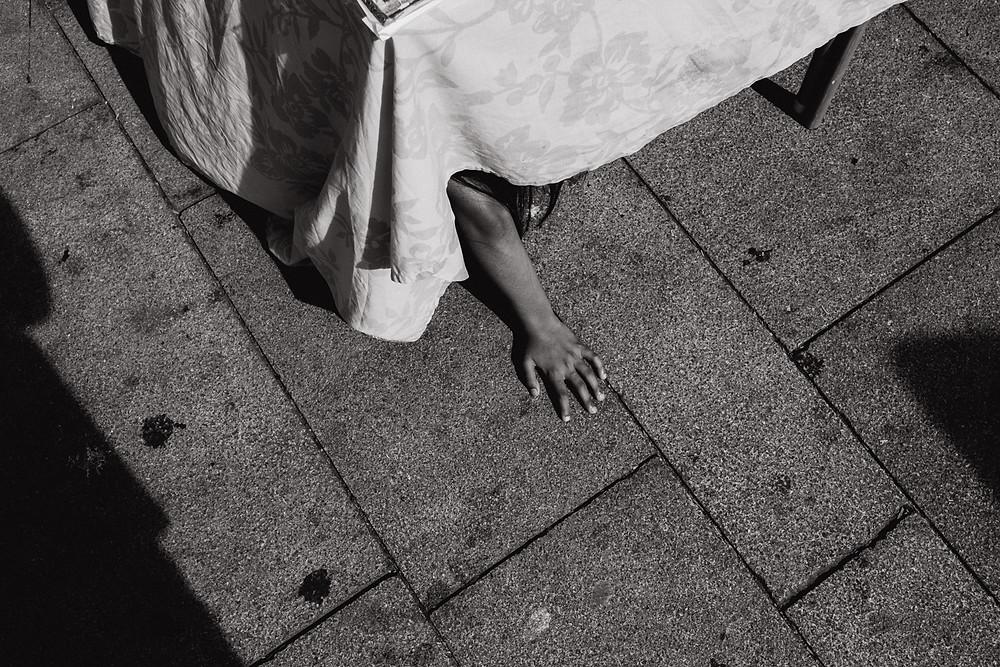 Streetfotografie Porto - Juxtaposition, Christopher Reuter
