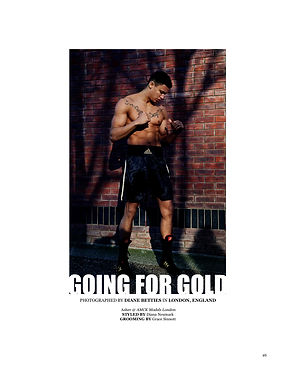 Going for Gold for Refashion book Magazine