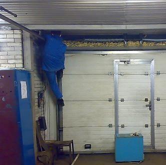 Срочный ремонт секционных ворот