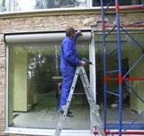 ремонт секционных ворот на месте