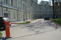 установка шлагбаумов на предомовых территориях