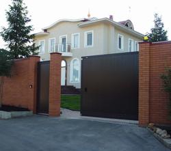 Купить ворота для дома