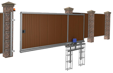 Автоматические откатные ворота купить
