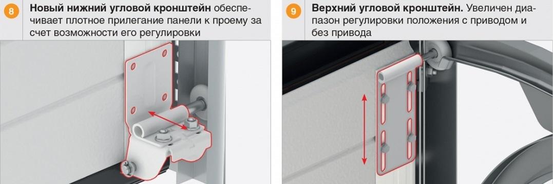 Кронштейны ворот Дорхан RSD01