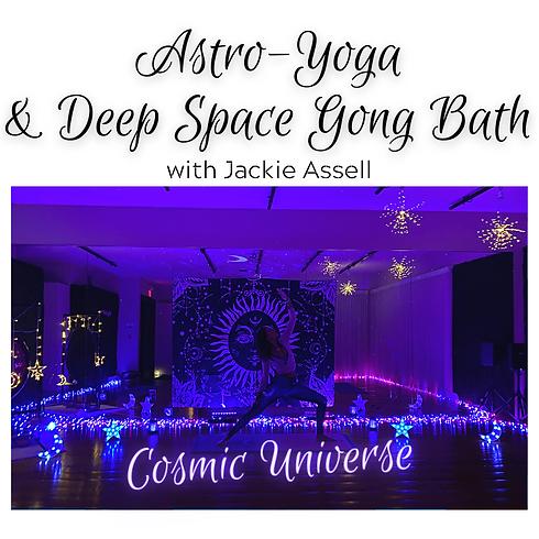 Astro-Yoga Cosmic Flow & Gong Bath - Cosmic Universe