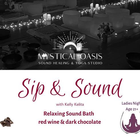 Ladies Night - Sip & Sound