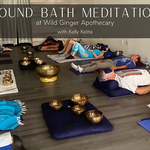 Weekly Sound Bath Meditation