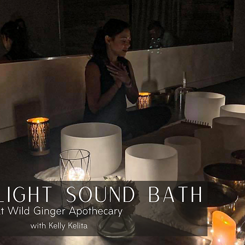 Soothing Candlelight Sound Bath