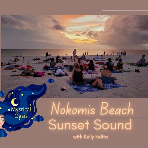 Nokomis Beach Sunset Sound Bath - Sept 9
