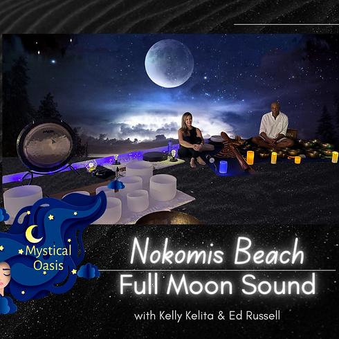 Full Moon Sound Bath - Nokomis Beach