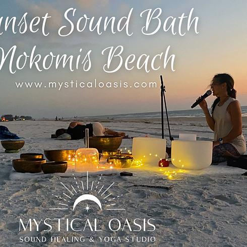 Sunset Sound Bath On Nokomis Beach - June 10th