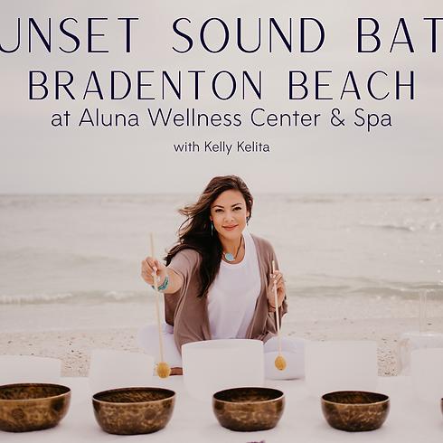 Sunset Sound Bath On The Beach
