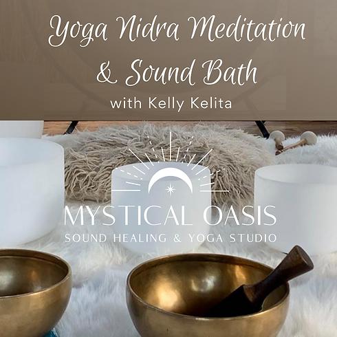 Yoga Nidra Meditation & Sound Bath