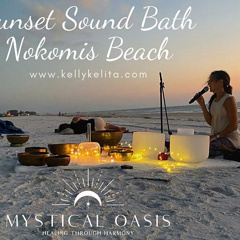 Sunset Sound Bath On Nokomis Beach