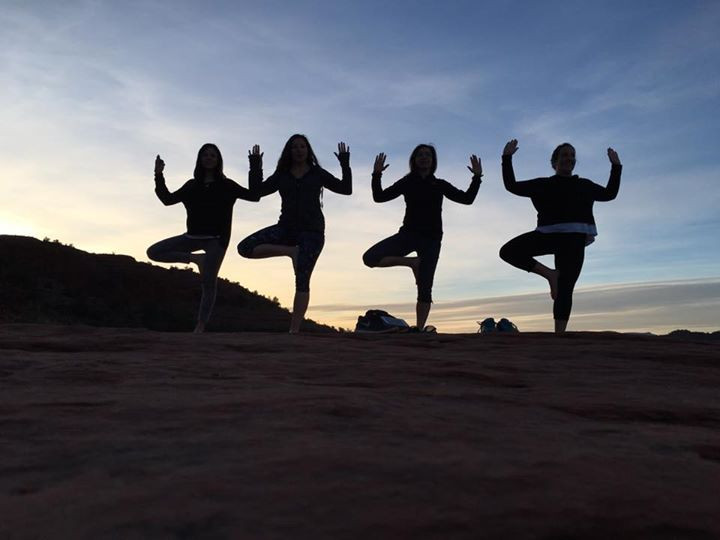 Cathedral Rock in Sedona, Arizona where the energy is feminine, fun and gave us a natural high on life!