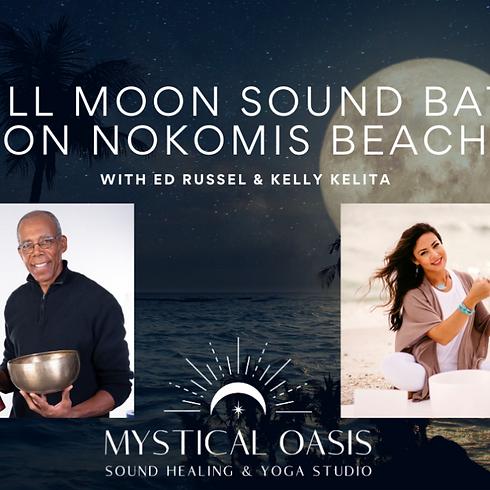 Full Moon Sound Bath - Nokomis Beach  - July 26