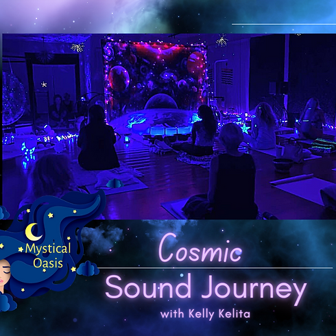 The Original Cosmic Sound Journey By Kelly Kelita
