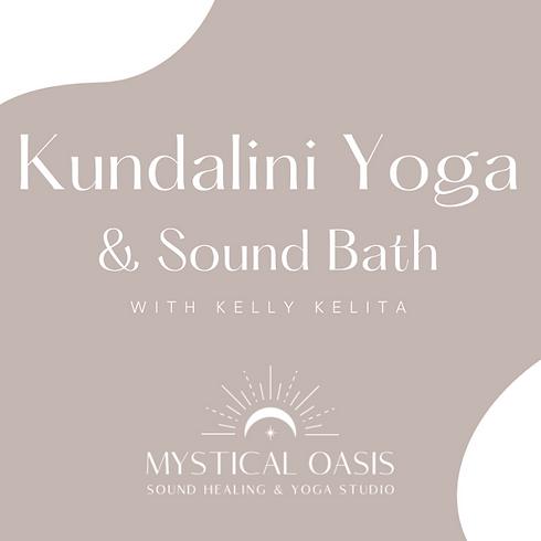 Kundalini Yoga & Sound Bath with Kelly Kelita