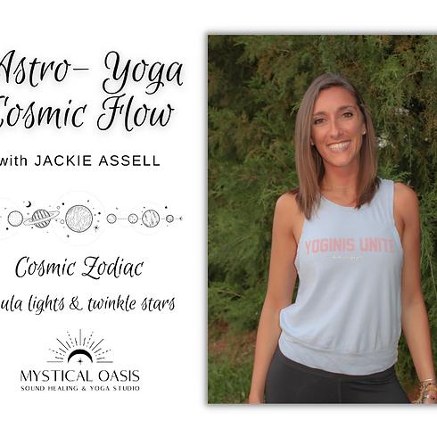 Astro-Yoga Cosmic Flow