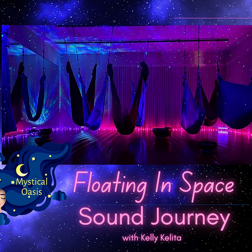 Floating In Space - Sound Journey  - 1:00 PM