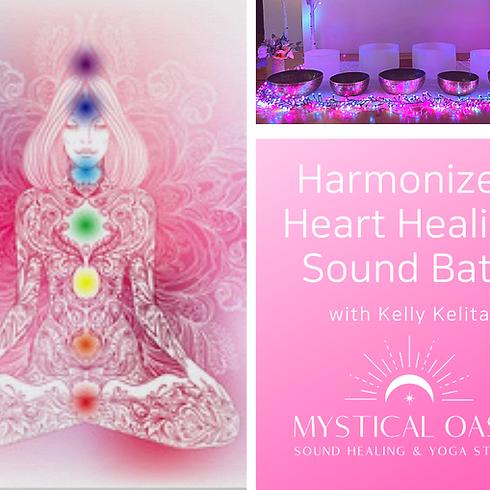 Harmonized Heart Healing Sound Bath