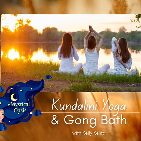 Kundalini Yoga & Gong Bath with Kelly Kelita